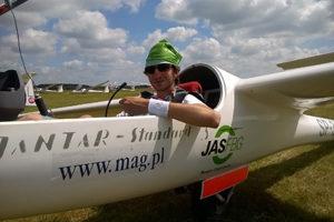 Artur Łończuk przed lotem