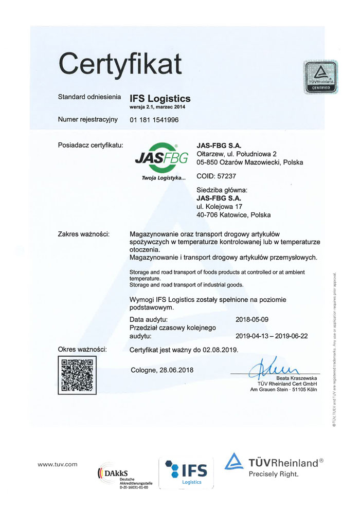 JAS-FBG_Oltarzew_18_RA_IFS-Log_Certificate-1