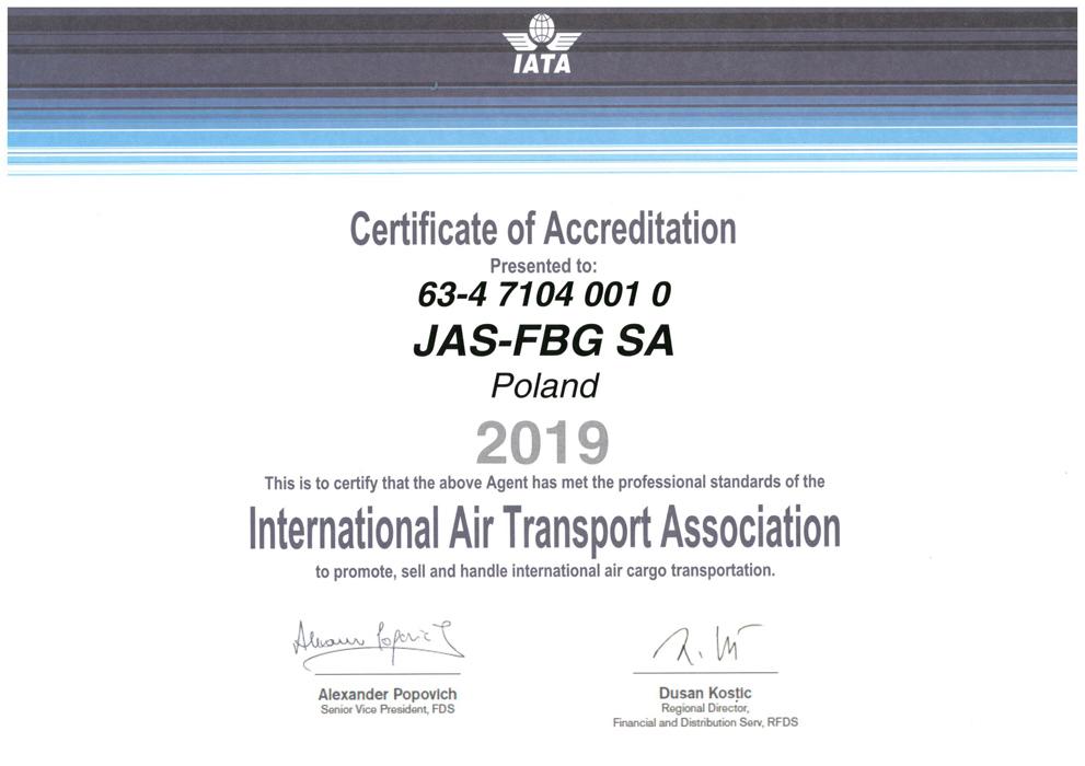 2019 IATA
