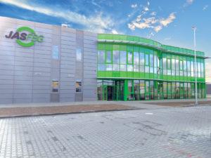 Magazyn spedycyjny Bydgoszcz wejście frontowe