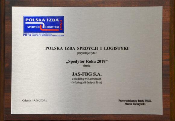 nagroda spedytor roku 2019