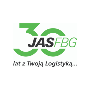 logotyp jasfbg na 30 lat istnienia firmy